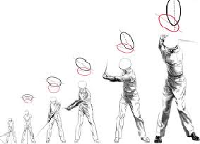 danburg golf - swing
